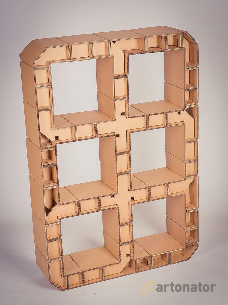 Мастер класс из мебель из картона своими руками 917